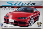 Aoshima 00694 Nissan Silvia Spec.R AERO ver. 1/24 scale kit