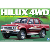 Aoshima 08218 LN107 HILUX PICK UP DOUBLE CAB 4WD 1/24 scale kit