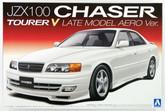 Aoshima 09659 JZX100 Chaser Tourer V Late Model Aero Ver. 1/24 scale kit