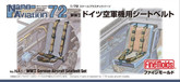 Fine Molds NA1 WW2 German Aircraft Seatbelt Set 1/72 scale kit