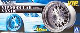 Aoshima 09086 VIP Car Tire & Wheel Set VIP Modular VXS110 19 inch 1/24 scale kit