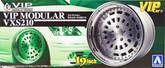 Aoshima 09093 VIP Car Tire & Wheel Set VIP Modular VXS210 19 inch 1/24 scale kit