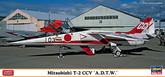 "Hasegawa 02105 Mitsubishi T-2 CCV A.D.T.W."" 1/72 Scale Kit  """