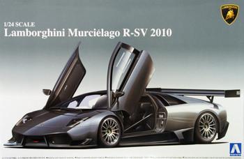 Aoshima 07105 Lamborghini Murcielago R-SV 2010 1/24 scale kit