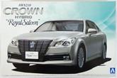 "Aoshima 08454 AWS210 Toyota Crown Hybrid Royal Saloon G"" 2012 1/24 scale kit"""