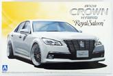 "Aoshima 08461 AWS210 Toyota Crown Hybrid Royal Saloon G"" 2012 20 inch custom 1/24 scale kit"""