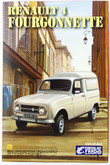 Ebbro 25003 RENAULT 4 Fourgonnette 1/24 scale plastic model kit 456175250034