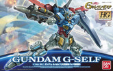 Bandai HG Reconguista in G 932280 GUNDAM Gundam G-Self 1/144 scale kit