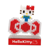 Kawada NBH-078 nanoblock LED Sanrio Hello Kitty and Big Ribbon