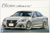 "Aoshima 08508 GRS214 Toyota Crown Athlete"" G 2012 20 Inch Custom 1/24 scale kit  """