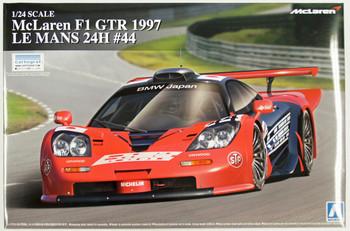 Aoshima 07464 McLaren F1 GTR 1997 Le Mans 24H #44 1/24 scale kit