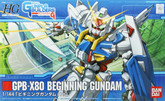 Bandai HG GB 001 GUNDAM GPB-X80 BEGINNING GUNDAM 1/144 Scale Kit