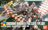 Bandai HG Build Fighters 035 CROSSBONE GUNDAM X1 FULL CLOTH TYPE.GBFT 1/144 scale kit