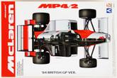 Aoshima 81891 McLaren MP4/2 1984 British Grand Prix 1/20 scale kit