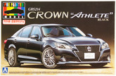 "Aoshima 08515 GRS214 Toyota Crown Athlete"" G 2012 Black 1/24 scale kit (Pre-painted Model)"""