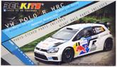 Aoshima (BELKITS) 97373 Volkswagen Polo R WRC 1/24 scale kit