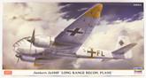 "Hasegawa 02180 Junkers Ju188F Long Range Recon. Plane"" 1/72 scale convertible kit """