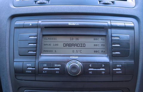 Skoda radio now tuned to receive Digital Radio with JustDRIVE