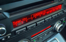 JustDRIVE Digital Radio connected directly into an Original Factory Fitted BMW Professional car radio