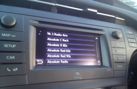 JustDRIVE - Add-on car DAB Digital Radio kit - Including installation -  FITS ANY CAR!
