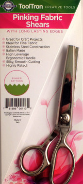 "7 1/2"" Fine, Lightweight Pinking Shears"