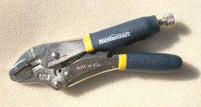 Locking Pliers - Curved