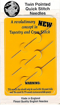John James Twin Pointed Quick Stitch Needles