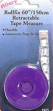 Allary Rollfix Retractable Tape Measure