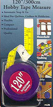 120 Inch Sewing Quilting Tape Measure