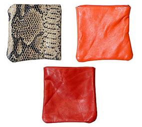 Genuine Leather Storage Purse