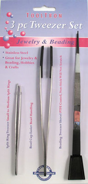 3 pc. Tweezers Set