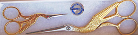 "SPECIAL GIFT SET FOR YOU - 6 1/2"" stork and 3 1/2"" stork with genuine Swarovski crystal - ELEGANT ITALIAN-MADE"