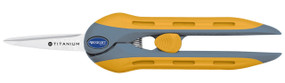 6 inch spring-action scissors.  Titanium-bonded.  Cushion handles.  Micro tip