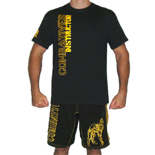 Black and Gold Instructor Shirt