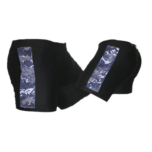 Black and NWU (Navy Camo) Vale Tudo MMA Shorts