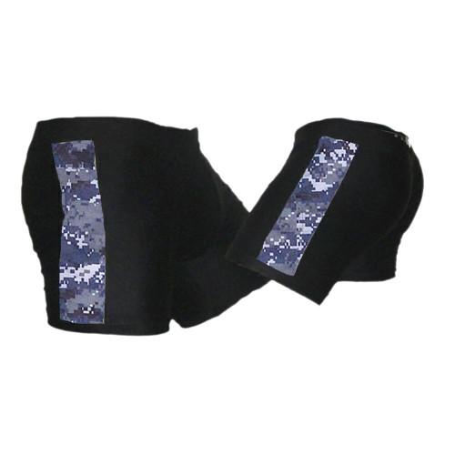 Black and NWU (Navy Camo) Vale Tudo MMA Shorts 2XL