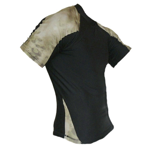 ATACS Forest Green Short Sleeve Rash Guards