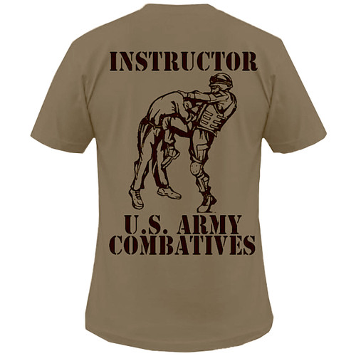 Tan 499 Combatives Instructor Shirt