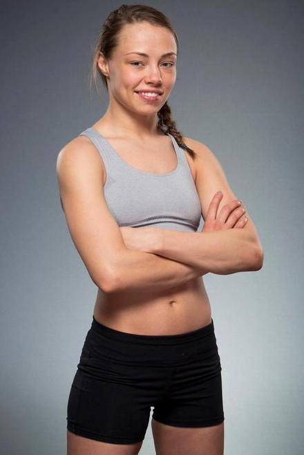 Solid Black Blank Vale Tudo Female MMA Shorts