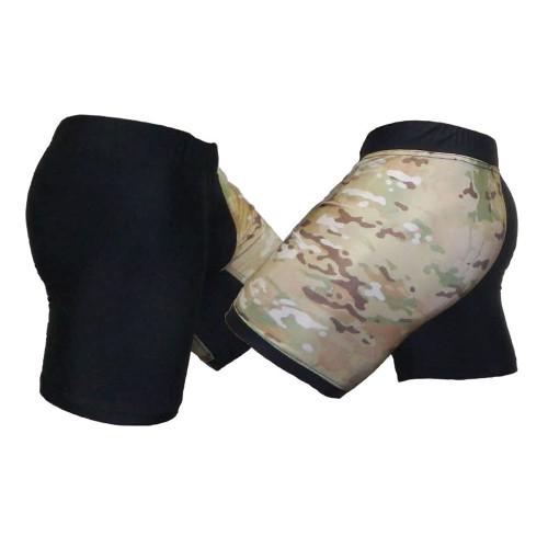 Multicam and Black Digicam Vale Tudo Two Tone Shorts