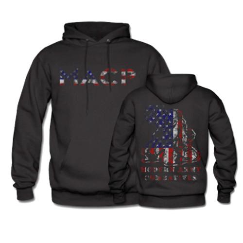 MACP Fighter USA Flag Hoodie