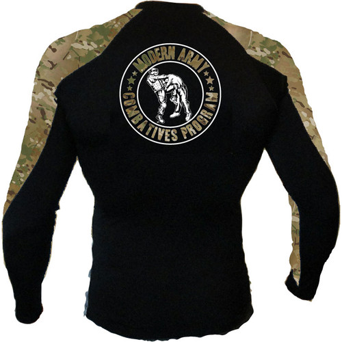 MACP MultiCam Long Sleeve Rash Guard