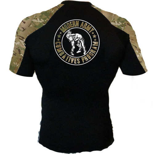MACP MultiCam Short Sleeve Rash Guard
