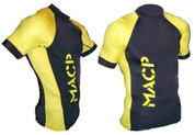 Black and Gold MACP Rash Guard
