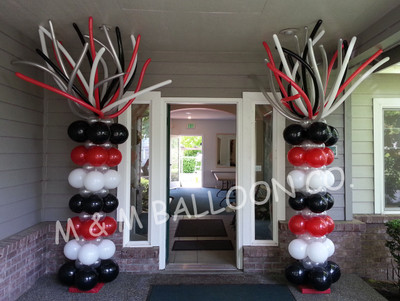 5 ft. of Square Pack Column with Fringe Topper
