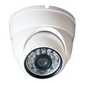 "DigiHiTech - 1/3"" Color 700TVL Security Dome Camera"