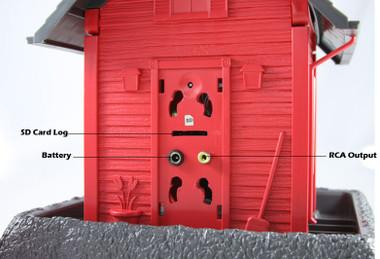 Outdoor Bird Feeder House Hidden Camera