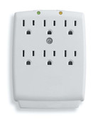 Outlet Wall-Mount Surge Protector Hidden Spy Camera
