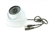 "Refurbished 1/3"" Color 700TVL 24 IR LED Armored Aluminum 3.6mm Eyeball Dome Camera"