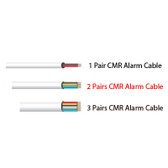 UL List5 Star Cable 22AWG 2 Pair 22/4 Alarm Cable ALARM WIREed 2 Pairs CMR Grade Alarm Cable